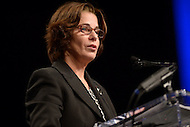 Washington, DC - January 2, 2015: Councilmember Mary Cheh addresses the audience after taking the oath of office as Ward 3 council member during the 2015 inauguration ceremony held at the Washington Convention Center, January 2, 2015. Cheh has served Ward 3 as an elected member of the Council since 2007. (Photo by Don Baxter/Media Images International)