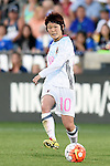 Mizuho Sakaguchi (JPN), JUNE 2, 2016 - Football / Soccer : Women's International Friendly match between United States 3-3 Japan at Dick's Sporting Goods Park in Commerce City, Colorado, United States. (Photo by AFLO)