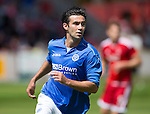 Aberdeen v St Johnstone...28.06.15  Glebe Park, Brechin..Pre-Season Friendly<br /> Simon Lappin<br /> Picture by Graeme Hart.<br /> Copyright Perthshire Picture Agency<br /> Tel: 01738 623350  Mobile: 07990 594431