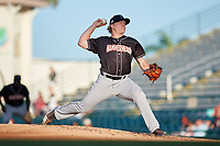 Jupiter Hammerheads starting pitcher Taylor Braley (29) during a Florida State League game against the Bradenton Marauders on April 20, 2019 at LECOM Park in Bradenton, Florida.  Bradenton defeated Jupiter 3-2.  (Mike Janes/Four Seam Images)