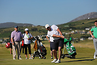 Nick Mullen playing with Joakim Lagergren (SWE) during the ProAm of the 2018 Dubai Duty Free Irish Open, Ballyliffin Golf Club, Ballyliffin, Co Donegal, Ireland.<br /> Picture: Golffile | Jenny Matthews<br /> <br /> <br /> All photo usage must carry mandatory copyright credit (&copy; Golffile | Jenny Matthews)