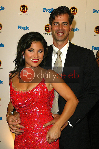 Victoria Recano and friend<br /> At the Entertainment Tonight Emmy Party Sponsored by People Magazine, The Mondrian Hotel, West Hollywood, CA 09-18-05<br /> Jason Kirk/DailyCeleb.com 818-249-4998