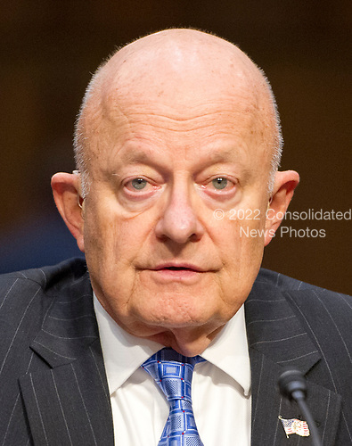 Former Director of National Intelligence of the United States James R. Clapper testifies before the US Senate Committee on the Judiciary Subcommittee on Crime and Terrorism hearing titled &ldquo;Russian Interference in the 2016 United States Election&rdquo; on Capitol Hill in Washington, DC on Monday, May 8, 2017.<br /> Credit: Ron Sachs / CNP<br /> (RESTRICTION: NO New York or New Jersey Newspapers or newspapers within a 75 mile radius of New York City)