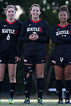21 November 2014: Seattle's Kelly Beck. The University of South Carolina Gamecocks played the Seattle University Redhawks at Fetzer Field in Chapel Hill, NC in a 2014 NCAA Division I Women's Soccer Tournament Second Round match. South Carolina advanced by winning the Penalty Shootout 2-1 after the game ended in a 0-0 tie after double overtime.