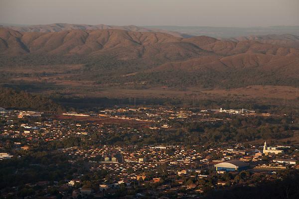 Tres Marias _ MG, 29 de Julho de 2008<br /> <br /> Na Foto: Imagem aerea da cidade de Tres Marias.<br /> <br /> <br /> Foto: LEO DRUMOND / AGENCIA NITRO
