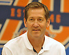 Jeff Hornacek, New York Knicks Head Coach, speaks during a news conference at MSG Training Center in Greenburgh on Friday, Sept. 23, 2016.