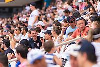 """São Paulo, SP, 15.12.2018 - MONSTER-JAM<br /> Torcida durante Monster Jam na Arena Corinthians, zona leste de São Paulo (SP), nesta sexta (15). Participam do evento veículos conhecidos como """"Big Foot"""", que são customizados para esse tipo de competição e conseguem fazer manobras radicais, por conta dos pneus especiais que podem chegar a mais de 1 metro de altura. (Foto: Anderson Lira/Brazil Photo Press)"""