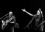 Steven Stills and Graham Nash at Boston Wang Center.