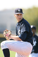 March 17th 2008:  Michael Solbach of the New York Yankees minor league system during Spring Training at Legends Field Complex in Tampa, FL.  Photo by:  Mike Janes/Four Seam Images