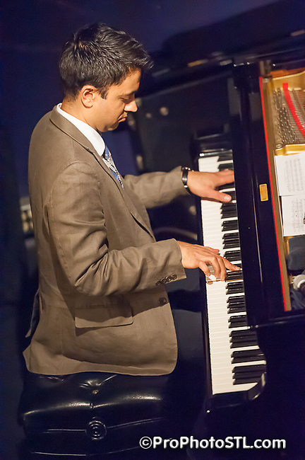 Vijay Iyer Trio performing at Jazz at The Bistro in St. Louis, MO on March 14, 2012.