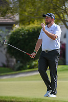 Shane Lowry (IRL) reacts to barely missing his putt on 16 during round 2 of the Arnold Palmer Invitational at Bay Hill Golf Club, Bay Hill, Florida. 3/8/2019.<br /> Picture: Golffile | Ken Murray<br /> <br /> <br /> All photo usage must carry mandatory copyright credit (&copy; Golffile | Ken Murray)