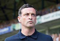 Jack Ross, Manager of Sunderland during Ipswich Town vs Sunderland AFC, Sky Bet EFL League 1 Football at Portman Road on 10th August 2019