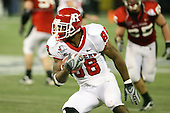 January 5th, 2008:  Rutgers wide receiver Kenny Britt (88) makes a cut after catching a pass during the third quarter of the International Bowl at the Rogers Centre in Toronto, Ontario Canada...Rutgers defeated Ball State 52-30.  ..Photo By:  Mike Janes Photography