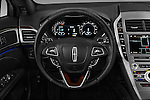Car pictures of steering wheel view of a 2017 Lincoln MKZ Select 4 Door Sedan Steering Wheel