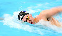 Zac Reid during the Men's 1500m Freestyle. New Zealand Short Course Swimming Championships, National Aquatic Centre, Auckland, New Zealand, Saturday 5th October 2019. Photo: Simon Watts/www.bwmedia.co.nz/SwimmingNZ