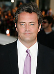 """HOLLYWOOD, CA. - April 14: Matthew Perry arrives at the premiere of Warner Bros. """"17 Again"""" held at Grauman's Chinese Theatre on April 14, 2009 in Hollywood, California."""