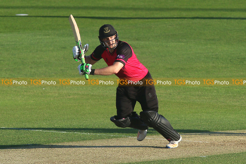 Luke Wright in batting action for Sussex during Essex Eagles vs Sussex Sharks, Royal London One-Day Cup Cricket at The Cloudfm County Ground on 10th May 2017