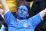 24 JUN 2010: Italy fan. The Slovakia National Team defeated the Italy National Team 3-2 at Ellis Park Stadium in Johannesburg, South Africa in a 2010 FIFA World Cup Group F match.