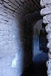 Passageway to the bell tower, Tumacacori Mission, Tumacacori National Historical Park