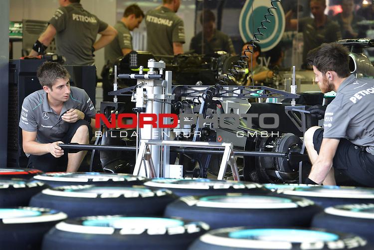 19.-22.09.2013, Marina-Bay-Street-Circuit, Singapur, SIN, F1, Grosser Preis von Singapur, Singapur, Mercedes GP <br />  Foto &copy; nph / Mathis