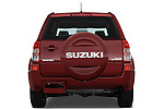 Straight rear view of a 2009 Suzuki Grand Vitara