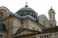 The Greek Orthodox church Hagia Triada on Taksim Square, Istanbul, Turkey