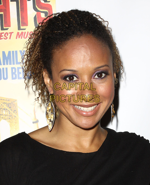 "TRACIE THOMS.Broadway Musical Los Angeles premiere Of  ""In the Heights"" held at The Pantages Theatre, Hollywood, CA, USA..June 23rd, 2010.headshot portrait black dangling earrings.CAP/ADM/KB.©Kevan Brooks/AdMedia/Capital Pictures."