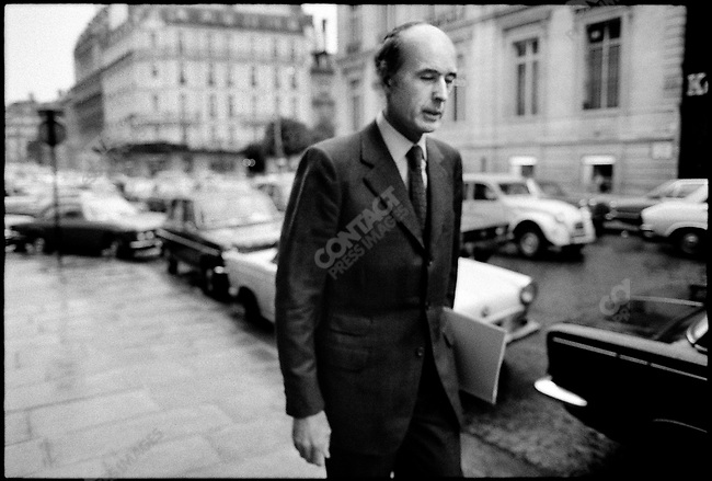 Valery Giscard d'Estaing, Paris, France, April 1974