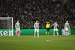 Stuart Armstrong of Celtic is dejected after Lionel Messi of Barcelona scores during the Champions League match at Celtic Park, Glasgow. Picture Date: 23rd November 2016. Pic taken by Lynne Cameron/Sportimage