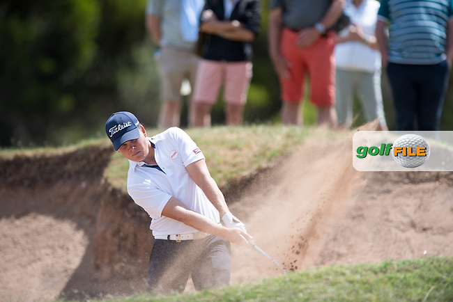 Jake Mcleod (NZL) during the 2nd round of the VIC Open, 13th Beech, Barwon Heads, Victoria, Australia. 08/02/2019.<br /> Picture Anthony Powter / Golffile.ie<br /> <br /> All photo usage must carry mandatory copyright credit (&copy; Golffile | Anthony Powter)
