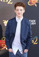 www.acepixs.com<br /> <br /> July 11 2017, LA<br /> <br /> Thomas Barbusca arriving at the premiere of Disney Channel's 'Descendants 2' on July 11, 2017 in Los Angeles, California. <br /> <br /> By Line: Peter West/ACE Pictures<br /> <br /> <br /> ACE Pictures Inc<br /> Tel: 6467670430<br /> Email: info@acepixs.com<br /> www.acepixs.com
