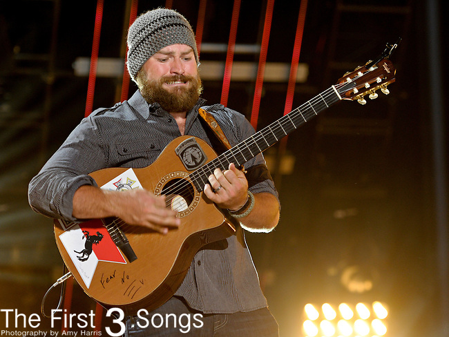 Zac Brown of the Zac Brown Band performs at LP Field during the 2011 CMA Music Festival on June 9, 2011 in Nashville, Tennessee.