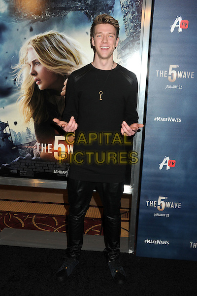 14 January 2016 - Los Angeles, California - Collins Key. &quot;The 5th Wave&quot; Los Angeles Premiere held at Pacific Theatres At The Grove.  <br /> CAP/ADM/BP<br /> &copy;BP/ADM/Capital Pictures