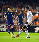 Valencia's  Javi Fuego  during La Liga match. October 17, 2015. (ALTERPHOTOS/Javier Comos)