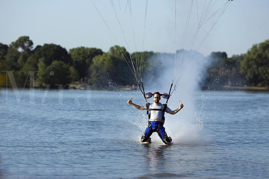Sky Diver landing on water