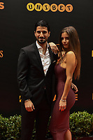 20190116 – PUURS ,  BELGIUM : Igor Refaelov (L) pictured during the  65nd men edition of the Golden Shoe award ceremony and 3th Women's edition, Wednesday 16 January 2019, in Puurs Studio 100 Pop Up Studio. The Golden Shoe (Gouden Schoen / Soulier d'Or) is an award for the best soccer player of the Belgian Jupiler Pro League championship during the year 2018. The female edition is the thirth one in Belgium.  PHOTO DIRK VUYLSTEKE | Sportpix.be