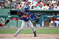 New York Mets infielder Dilson Herrera (2) during a Spring Training game against the Boston Red Sox on March 16, 2015 at JetBlue Park at Fenway South in Fort Myers, Florida.  Boston defeated New York 4-3.  (Mike Janes/Four Seam Images)