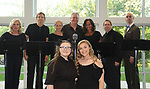 Beth Chamberlin & Tina Sloan & Yvonna Kopacz Wright & Michael O'Leary & Grant Aleksander - LSPAC (Lower Shore Performing Arts Company) presents the Relaunch of Michael O'Leary's BREATHING UNDER DIRT - Heal - Hope - Love - on May 12, 2018 at the Ward Museum of Wildfowl Art - Salisbury University in Salisbury, Maryland.  (Photo by Sue Coflin/Max Photo)