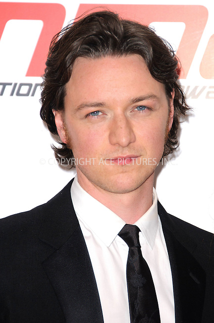 WWW.ACEPIXS.COM . . . . .  ..... . . . . US SALES ONLY . . . . .....May 11 2011, London....James McAvoy in the press room at the National Movie Awards on May 11 2011 in London....Please byline: FAMOUS-ACE PICTURES... . . . .  ....Ace Pictures, Inc:  ..Tel: (212) 243-8787..e-mail: info@acepixs.com..web: http://www.acepixs.com