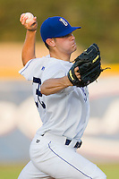 Starting pitcher Crawford Simmons #32 of the Burlington Royals in action against the Greeneville Astros at Burlington Athletic Stadium June22, 2010, in Burlington, North Carolina.  Photo by Brian Westerholt / Four Seam Images