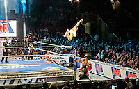 Lucha Libre wrestling in the Arena Mexico. Mexico City
