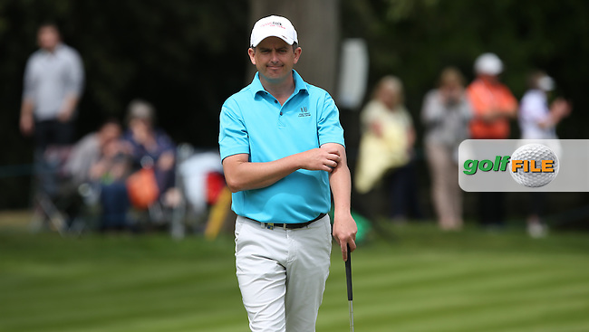 Peter Lawrie (IRL) completes the Final Round of the 2015 BMW PGA Championship over the West Course at Wentworth, Virginia Water, London. 24/05/2015. Picture David Lloyd | www.golffile.ie.