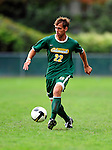 13 September 2009: University of Vermont Catamount backfielder/midfielder Seth Rebeor, a Freshman from Fairfax, VT, in action against the University of Massachusetts Minutemen during the second round of the 2009 Morgan Stanley Smith Barney Soccer Classic held at Centennial Field in Burlington, Vermont. The Catamounts and Minutemen battled to a 1-1 double-overtime tie. Mandatory Photo Credit: Ed Wolfstein Photo