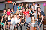 21 hugs.-------.Rachel kerins, Cahermoneen,Tralee (front centre) had a smashing time celebrating her 21st birthday last Saturday night in the AbbeyInn Tralee with many friends and family.