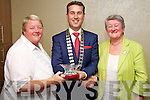 Business awards at the Tralee Tidy Town awards at the Manor West hotel on Tuesday night front from left: Julianna Murphy, Coisceim Natural Therapy Centre, Padraig McGillycuddy, Anne O'Donnell, Coisceim Natural Therapy Centre