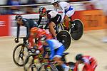Riyu Ota (JPN), Ambience shot, <br /> AUGUST 28, 2018 - Cycling - Track : Women's Keirin Round 2 at Jakarta International Velodrome during the 2018 Jakarta Palembang Asian Games in Jakarta, Indonesia. <br /> (Photo by MATSUO.K/AFLO SPORT)