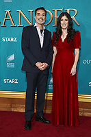 "HOLLYWOOD, CA - FEBRUARY 13: Matthew B. Roberts, Maril Davis, at the Premiere Of Starz's ""Outlander"" Season 5 at HHollywood Palladium in Hollywood California on February 13, 2020. Credit: Faye Sadou/MediaPunch"