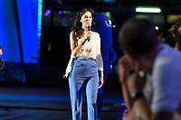 Giorgia Surina presenter of the show<br /> day 01  08-08-2017<br /> Energy For Swim<br /> Rome  08 -09  August 2017<br /> Stadio del Nuoto - Foro Italico<br /> Photo Deepbluemedia/Insidefoto