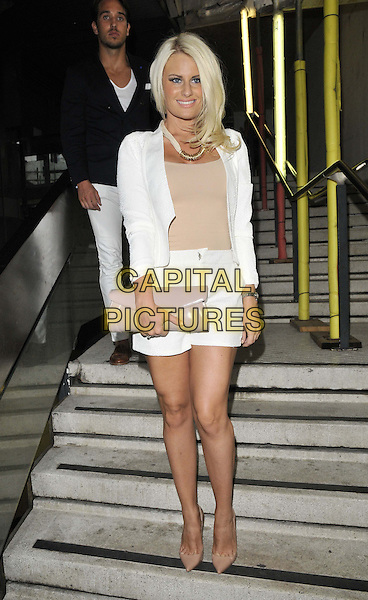 LONDON, ENGLAND - JULY 16: Danielle Armstrong attends the Attitude Magazine's World Sexiest Men 2014 summer party, The Paramount Club, 31st floor, Centre Point, New Oxford St., on Wednesday July 16, 2014 in London, England, UK. <br /> CAP/CAN<br /> &copy;Can Nguyen/Capital Pictures