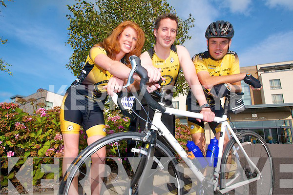 TRI TRIATHLON: Lorraine O'Halloran, David Barton and Gerry Geaney from Tralee Triathlon Club are inviting new members of all experiences to join the club.